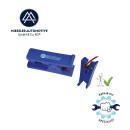 Compressed air hose cutter