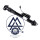Mercedes M-Class W164 Shock absorber suspension A1643203031