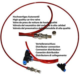 BMW 5-Series (E61) Set de emergencia suspensión neumática compresor Alimentacion de aire