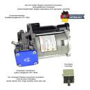 BMW 5-Series (E61) Compressor air suspension 37106793778